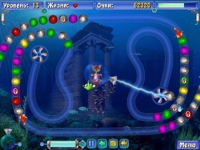 Сприлл. Подводное приключение